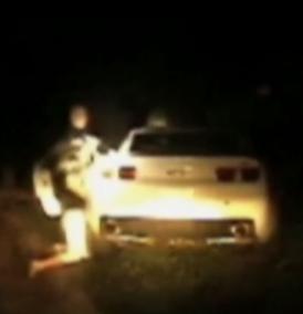 cop caught beating woman