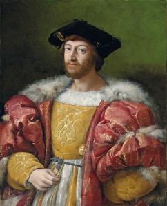 Lorenzo di Medici by Raphael (c 1518)