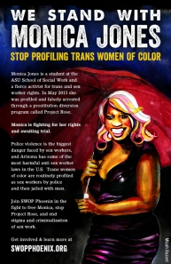 Stand With Monica Jones