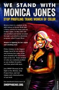 Stand With Monica Jones