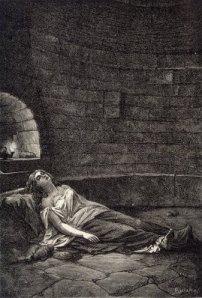 Vestal Condemned to Death