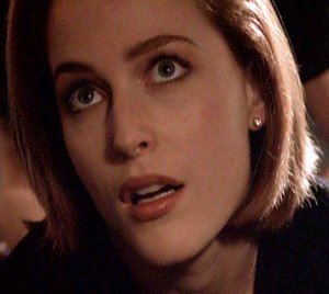 Scully confused