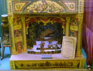 Toy theatre c.1845-50