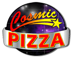 Cosmic Pizza logo