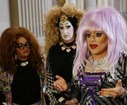 drag queen Facebook protest