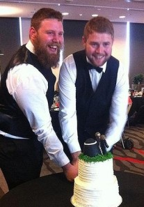 Travis McIntosh and Matt McCormick