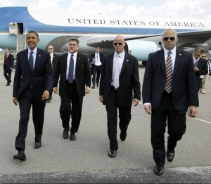 Obama & SS goons