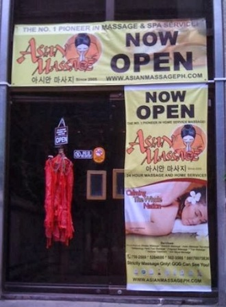 Asian massage parlor