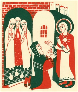 Saint Nicholas & the three daughters