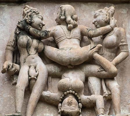 group sex statue