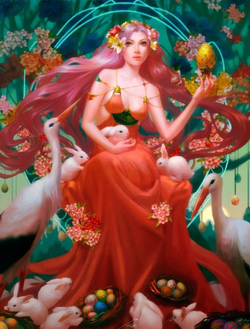 Easter Goddess by Thienbao (2013)