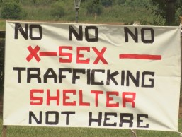 no trafficking shelter here