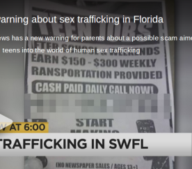sex trafficking scam