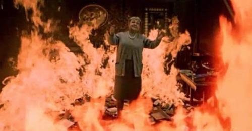 Fahrenheit 451 woman