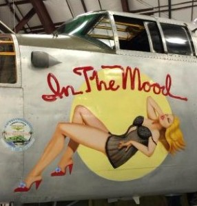 nose art In the Mood