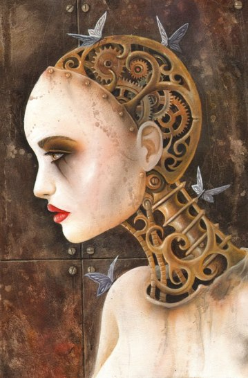 A Most Amazing Clockwork Woman by Ian Daniels (2010)