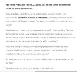 Austin lemonade laws