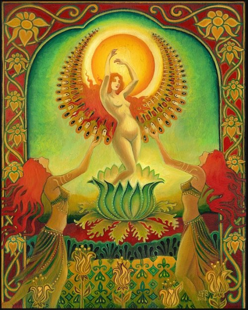 Mother Isis by Emily Balivet (2012)