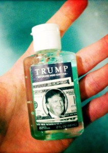 Trump hand sanitizer
