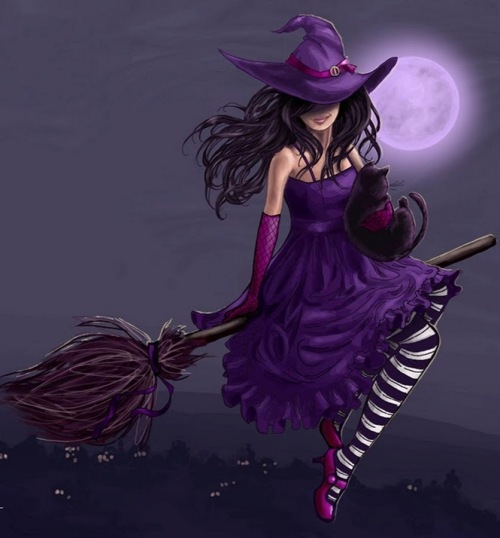 purple-befana