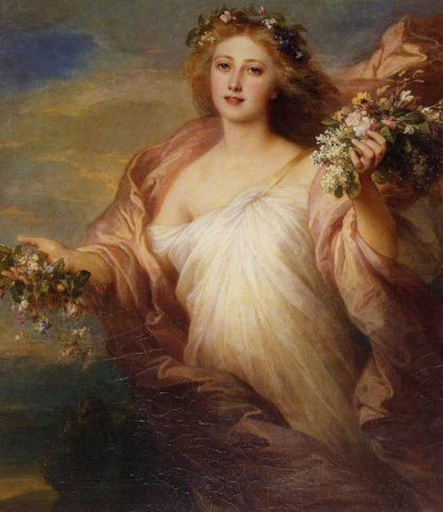 the-spring-by-franz-xaver-winterhalter-1850s
